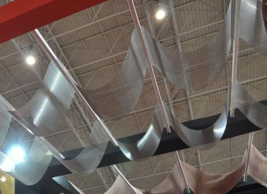 吊顶编织装饰网