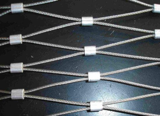 钢丝绳装饰网