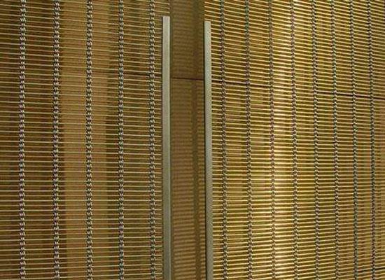 走廊编织装饰网